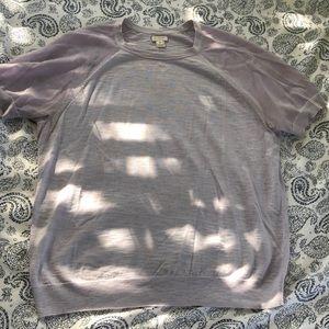 J. Crew sweater t-shirt!